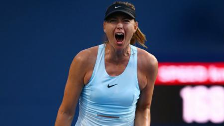 Maria Sharapova di turnamen tenis Rogers Cup. - INDOSPORT
