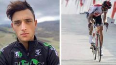 Indosport - Giovanni Iannelli, pembalap sepeda yang tewas akibat kecelakaan