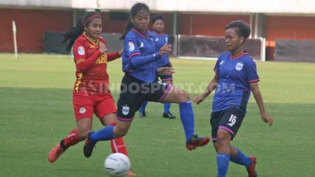 Laga Liga 1 Putri Indonesia 2019 antara PS Tira vs PSIS Semarang di Stadion Maguwoharjo, Sleman. - INDOSPORT