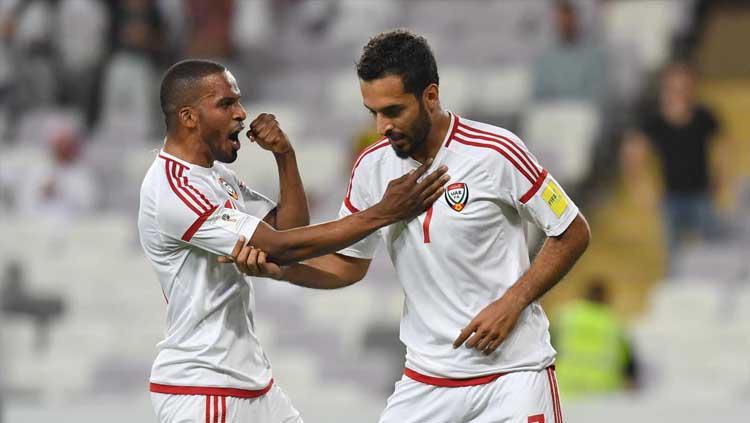 Striker UEA Ali Mabkhout. Copyright: The National