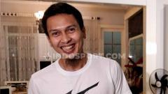 Indosport - Pebulutangkis spesialis ganda putra, Mohammad Ahsan, memiliki cara tersendiri untuk menjaga buah nangka di villanya.