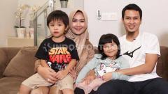 Indosport - Pebulutangkis Indonesia, Muhammad Ahsan dan keluarga.