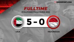Indosport - Hasil Pertandingan Uni Emirat Arab vs Timnas Indonesia.