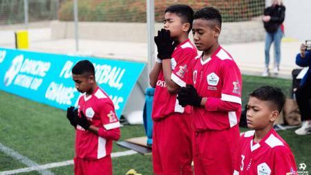 Indonesia vs Jerman di Danone Nations Cup 2019 - INDOSPORT