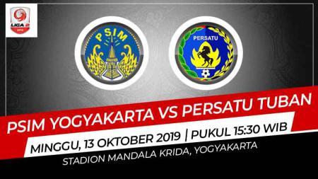 Prediksi PSIM Yogyakarta vs Persatu Tuban di Liga 2 2019. - INDOSPORT