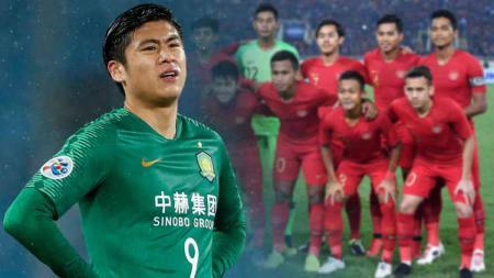 Zhang Yuning pemain china yang akan lawan timnas Indonesi - INDOSPORT