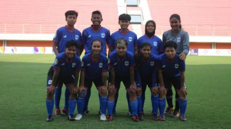 Pemain PSIS Semarang di kompetisi Liga 1 Putri. - INDOSPORT
