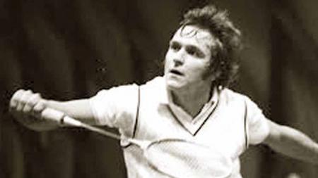 Svend Pri, legenda bulu tangkis Denmark sempat menjadi rival abadi Rudy Hartono di tahun 70-an, termasuk kala keduanya bergantian juara di Denmark Open. - INDOSPORT