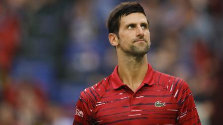 Novak Djokovic mengalahkan Rafael Nadal di semifinal Prancis Terbuka 2021. - INDOSPORT
