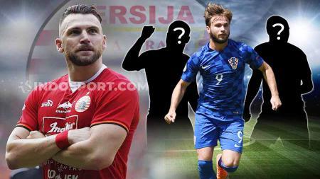 Seperti Marko Simic, 3 eks striker Timnas Kroasia yang bisa ke Persija. Foto: Herry Ibrahim/INDOSPORT - INDOSPORT