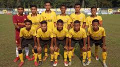 Indosport - Tim PSDS Deli Serdang di Piala Soeratin U-17 zona Sumut 2019.