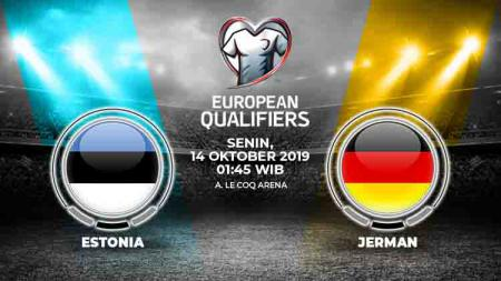 Berikut prediksi Estonia vs Jerman dalam pertandingan lanjutan Kualifikasi Euro 2020 - INDOSPORT