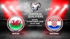Indosport - Prediksi Wales vs Kroasia