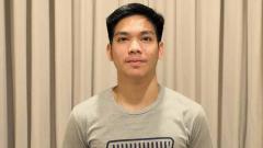 Indosport - Pebulutangkis Indonesia, Daniel Marthin yang berpasangan dengan Leo Rolly Carnando di Kejuaraan Dunia Junior Bulutangkis 2019.