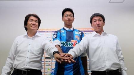 Ryu Nugraha, kiper muda Indonesia yang bermain untuk klub kasta ketiga Liga Jepang (J3-League), AC Nagano Parceiro. - INDOSPORT