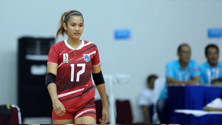 Atlet voli, Nandita Ayu Salsabila. Copyright: volleyballinfo