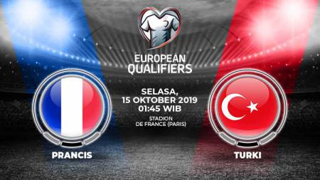 Berikut prediksi pertandingan Prancis vs Turki di Stade De France, Selasa (15/10/19) pukul 01.45 WIB dalam lanjutan kualifikasi Euro 2020. - INDOSPORT