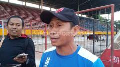 Indosport - Asisten pelatih PSM Makassar, Imran Amirullah.