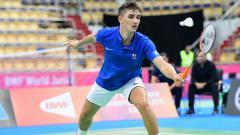 Indosport - Pebulutangkis tunggal putra junior asal Prancis, Christo Popov, membuat sensasi dengan mampu lolos mulus ke babak final Kejuaraan Dunia Bulutangkis Junior 2019.