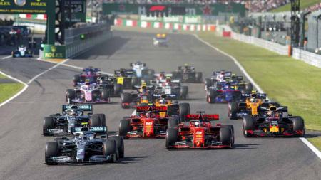 Grand Prix F1 Jepang di Sirkuit Suzuka pada, Minggu (13/10/2019) di Suzuka, Jepang. - INDOSPORT
