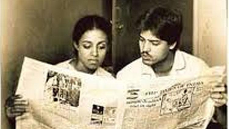 Ameeta Kulkarni (kiri) dan mantan pebulutangkis andalan India Syed Modi (kanan) yang wafat karena dibunuh. Copyright: myvoice.opindia.com
