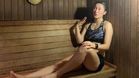 Gronya Somerville, pebulutangkis asal Australia yang terkenal akan kecantikannya - INDOSPORT