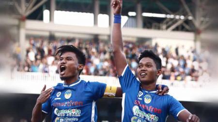 Laga pertandingan PSIM Yogyakarta vs Persatu di Mandala Krida, Yogyakarta, Minggu (13/10/19). - INDOSPORT
