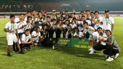 Indosport - PSIS Semarang juara 3 Liga 1 U-20.