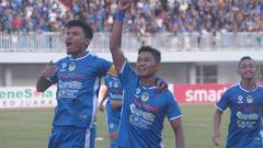Indosport - Laga pertandingan PSIM Yogyakarta vs Persatu di Mandala Krida, Yogyakarta, Minggu (13/10/19).