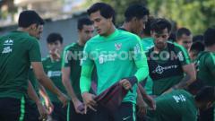Indosport - Kiper klub Liga 1 Madura United, M Ridho Djazulie.