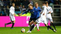Indosport - Estonia vs Jerman di Kualifikasi Euro 2020.