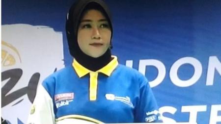 Wasit bulutangkis wanita asal Indonesia, Andi Purnama. - INDOSPORT