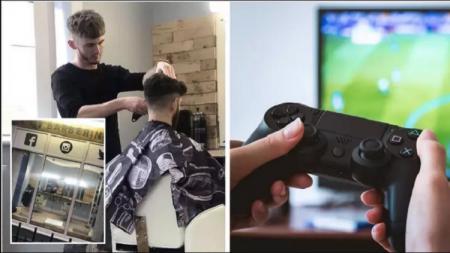 Barbershop CSF Barbering menawarkan potong rambut gratis bisa memenangkan game FIFA 20 - INDOSPORT