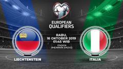 Indosport - Italia diprediksi akan menjaga tren kemenangan sempurnanya dalam laga kedelapan grup J Kualifikasi Euro 2020 melawan Liechtenstein pada Rabu (16/10/19).