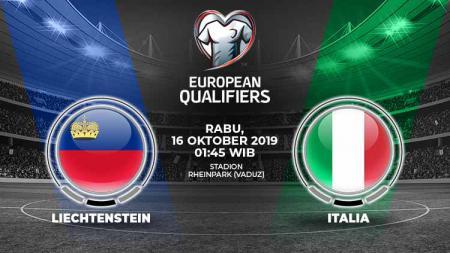 Italia diprediksi akan menjaga tren kemenangan sempurnanya dalam laga kedelapan grup J Kualifikasi Euro 2020 melawan Liechtenstein pada Rabu (16/10/19). - INDOSPORT