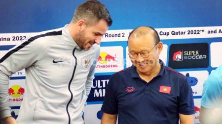 Kekalahan timnas Indonesia dari Vietnam di matchday 4 Kualifikasi Piala Dunia 2022 Grup G, Selasa (15/10/19), diwarnai meme kocak netizen di media sosial. - INDOSPORT
