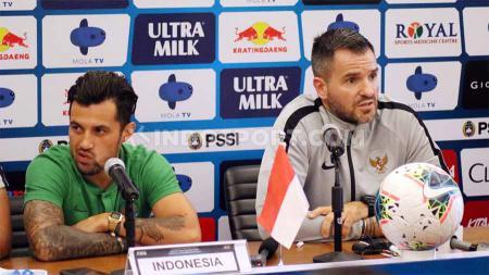 Bali United fokus mengembalikan kondisi pemain menuju laga Shopee Liga 1 2019 melawan Perseru Badak Lampung FC di mana salah satunya ialah Stefano Lilipaly. - INDOSPORT