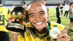 Indosport - Yuswanto Aditya, pemain terbaik di Liga 1 U-20 2019