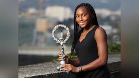 Cori 'Coco' Gauff memenangkan turmamen Upper Austria Landies Linz. - INDOSPORT