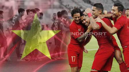 Skor keramat 1-0 warnai pertemuan antara Timnas Indonesia vs Vietnam di SEA Games sejak edisi 1991. - INDOSPORT