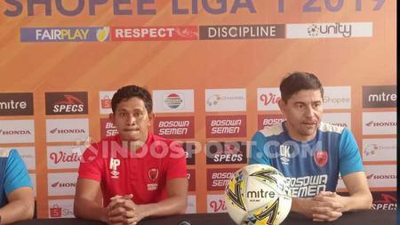 Gelandang klub Liga 1 PSM Makassar, Rizky Pellu, angkat bicara setelah ditinggal tandemnya di lini tengah yakni Willjan Pluim hingga akhir musim ini. - INDOSPORT