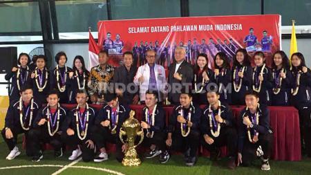Organisasi Bulutangkis Dunia (BWF) memprediksi tiga pebulutangkis junior Indonesia yang akan bersinar di tahun 2020 ini. - INDOSPORT