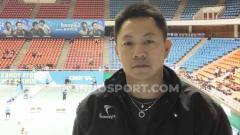 Indosport - Ade Lukas, pelatih PB Djarum yang menemukan bakat Kevin Sanjaya dan Leo/Daniel.