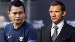 Indosport - Andai mengantikan Simon Mcmenemy sebagai pelatih Timnas Indonesia, Yeyen Tumena bisa berkaca ke legenda AC Milan, Andriy Shevchenko.