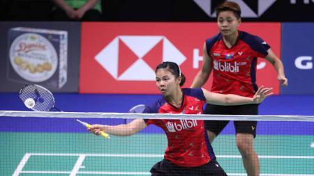 Rekor pertemuan Greysia Polii/Apriyani Rahayu vs Chang Ye Na/Kim Hye Rin di perempat final Malaysia Masters 2020, memperlihatkan langkah terjal wakil Indonesia. - INDOSPORT