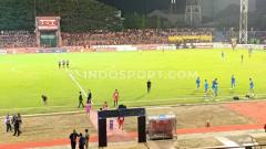 Indosport - Tingkat kepadatan atau okupansi Stadion Andi Mattalatta Mattoanging (AMM), Makassar, menurun drastis di setiap laga kandang PSM Makassar di Shopee Liga 1 2019.