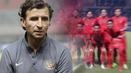 Hari ini (21/3/2020) merupakan sejarah bagi pelatih asal Spanyol, Luis Milla, karena tiga tahun lalu menjalani debut bersama Timnas Indonesia. - INDOSPORT