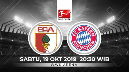 Berikut prediksi Augsburg vs Bayern Munchen pada pekan ke-8 Bundesliga Jerman 2019-2020 di Stadion WKK Arena, Sabtu (19/10/19) WIB - INDOSPORT