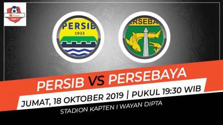 Prediksi pertandingan Liga 1 antara Persib Bandung vs Persebaya Surabaya pada pekan ke-23, Jumat (18/10/19), di Stadion Kapten I Wayan Dipta, Gianyar, Bali. - INDOSPORT