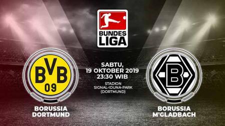 Borussia Dortmund akan menjamu lawan berat Borussia Moenchengladbach dalam lanjutan pekan ke-8 Bundesliga Jerman 2019/20, Sabtu (19/10/19). - INDOSPORT